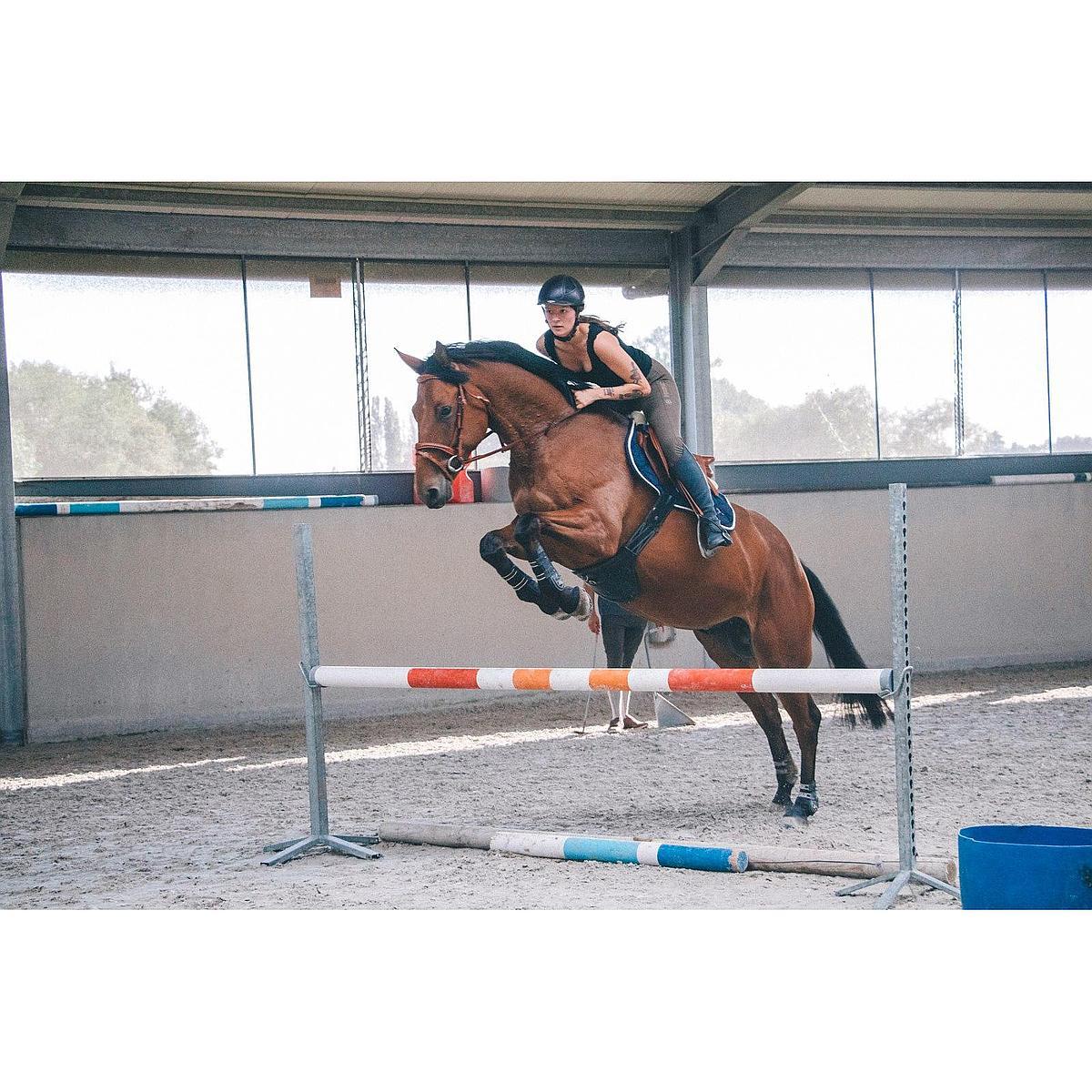 Harrys Horse Sangle Rabat de Ventre Deluxe Noir