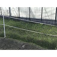 Ako Ruban de Clôture Economyline 10mm Blanc 2x200m