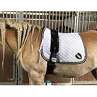 Harrys Horse Lunging Girth Luxe Black Full
