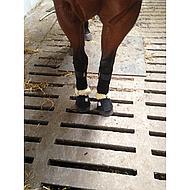Harrys Horse Cloche d'Obstacle Peau d'Agneau Néoprène Nature XL