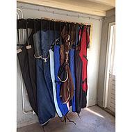 Harrys Horse Râtelier pour Couverture 6 couvertures Noir 6 Couvertures