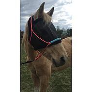 Harrys Horse Masque Anti-Mouches sans Oreilles Noir L