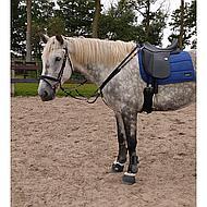 Harrys Horse Elastisch Voortuig Zwart Pony
