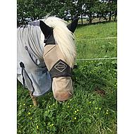 Chetaime FlyMask mit Ohren und abnehmbarer Nase Schwarz Pony