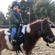 Harrys Horse Synthetisch Kinderzadel