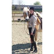 Pfiff Real Lambskin Western Saddle Seat Saver Nature Full