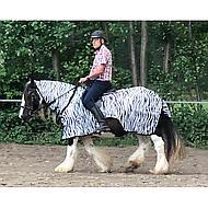 Horka Anti Fly Riding Rug Zebra 135/185