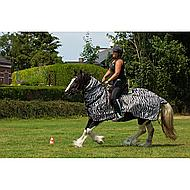 Horka Anti Fly Riding Rug Zebra 135/185