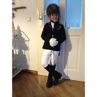 Harrys Horse Breeches Youngstars Black 176