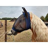 Kerbl Fly Mask Finostretch Blue Cob
