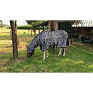 IR Vliegen-UV Deken met Hals Masker en Buikflap Zebra 215