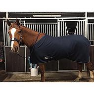 Harrys Horse Fleecedeken met Halsterset Zwart 165cm