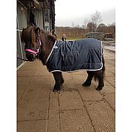 Horseware Pony Liner Lite 100g Navy Silver 75/115