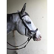 Rambo Micklem Deluxe Competition Bridle Dark Havanna Cob