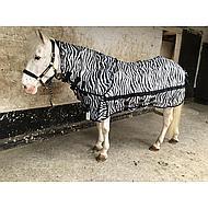 Horka Couverture Anti-Mouches Cou Indépendant Zebra 95/145