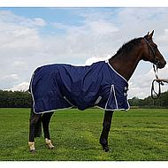 Pfiff Regendeken Blauw,  Fleecevoering 215cm