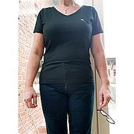 Back on Track T-shirt V-neck Zwart XXL