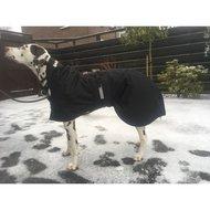 Back on Track Dog Waterproof Rug with Filling Black 91cm