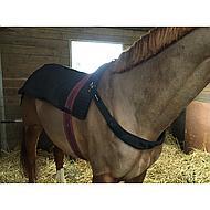 Back on Track Horseback warmer Royal Black 80x105cm