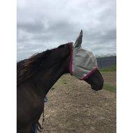 Amigo by Horseware Fly Mask Silver Shetland