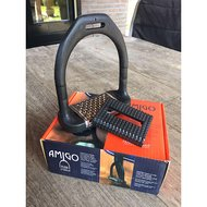 Amigo by Horseware Flexi Stirrups Black