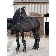 Rambo by Horseware Travel Boots Black/diamant Pony
