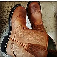 Ariat Western Fatbaby Saddle B Russet Rebel 8,5/42,5