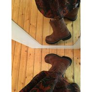 Ariat Western Fatbaby Saddle B Russet Rebel 38