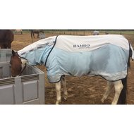 Rambo Summer Series Turnout 0g Navy/Grey 165/220