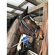 Horka Trense Crown Schwarz/Silber Pony