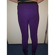 HKM Riding Leggings Starlight Sili. Knee Grey/Pink 98/104
