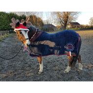 Harrys Horse Fleecedeken STOUT! Navy 115cm
