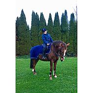 Imperial Riding Trainingsdeken fleece IR Basic Navy 205