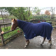 IR Zweetdeken fleece met singels en hals IR Basic Brown 185