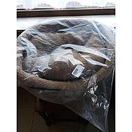 Ebi Pet Bed Paw & Sheepskin 75cm