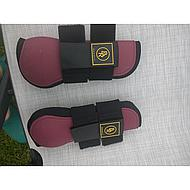 BR Tendon Boots Event PU w/Neoprene Lining Beet Red Pony