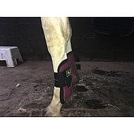 BR Peesbeschermers Event PU m/neopreen voering Beet Red Pony