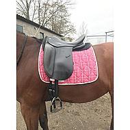 Harrys Horse Dressuursingel FreeFit Zwart 75cm