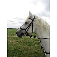 Harrys Horse Hoofdstel Anatomic Zwart Cob