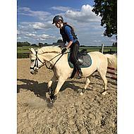 Harrys Horse Rijbroek Equitights Full Grip Zwart D46