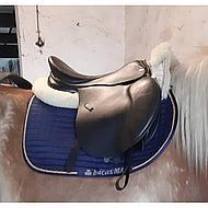Bucas Max Saddle Pad Jump/AP White