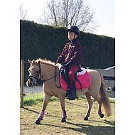 Shires Zadel Onderlegger Volledig Onderlegd Black Pony/Cob