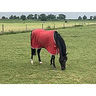 Amigo Stable Sheet Kruissingels Red/White/Green/Bl 160/213