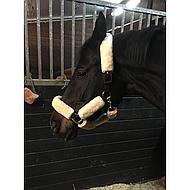 Premiere Halster  Nep Bont met Klitteband Zwart Pony