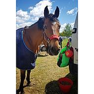 Harrys Horse Hooizak met Gaas Inzet Rose