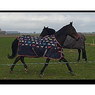 Highlander by Shires Outdoor Lite Cow Print 165/213