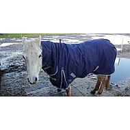 Harrys Horse Regendecke Thor 200g mit Hals Navy 165/215
