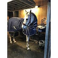 Harrys Horse Regendeken Thor 200g met Nek Navy 165/215