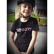 Harrys Horse T-Shirt STOUT! Black 152