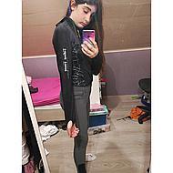 Feline Fauve Trainingsshirt Marlies Zwart XL